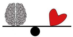 Follow your heart or brain